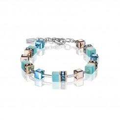 COEUR DE LION Geo Cube Fresh Turquoise Bracelet 4016/30-2000