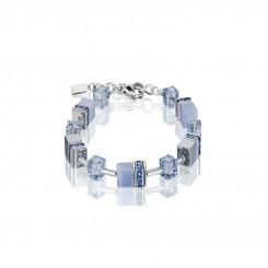 COEUR DE LION Natural Chalcedony Blue Bracelet 4017/30-0720
