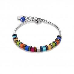 COEUR DE LION Geo Cube Multicolour Bracelet 4031/30-1547