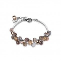 COEUR DE LION Botswana Agate Rose Bracelet 4895/30-1112