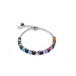 COEUR DE LION Geo Cube Fine Black Multicolour Bracelet 4939/30-1500