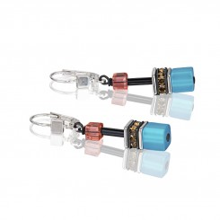 COEUR DE LION Geo Cube Multicolour Daylight Fresh Earrings 2838/20-1563