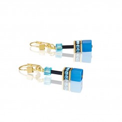 COEUR DE LION Geo Cube Fresh Rainbow Earrings 2838/20-1573