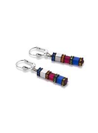 COEUR DE LION Geo Cube Multicolour Earrings 4031/20-1547
