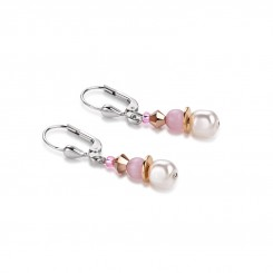 COEUR DE LION Swarovski Pearls Sunstone Earrings 4863/20-1900