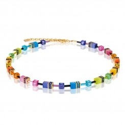 COEUR DE LION Geo Cube Fresh Rainbow Necklace 2838/10-1573