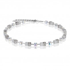 COEUR DE LION White Crystal Necklace 4322/10-1400