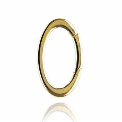 KAGI Gold Oval Link