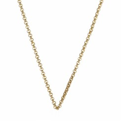 KAGI Gold Steel Me Petite 47cm Necklace