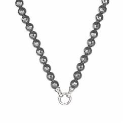 KAGI Midnight Haematite 49cm Necklace