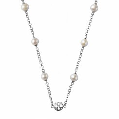 KAGI Pearl Chain 95cm Necklace