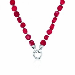 KAGI Red Hot Petite 80cm Necklace