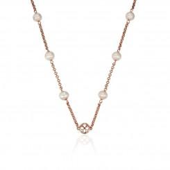 KAGI Rose Pearl Chain 95cm Necklace