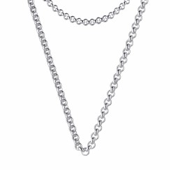 KAGI Steel Me Petite 80cm Necklace