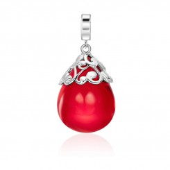 KAGI Red Milano Drop Pendant - Medium