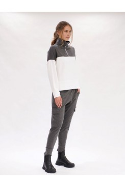 Mela Purdie Slouch Sweater - Compact Knit