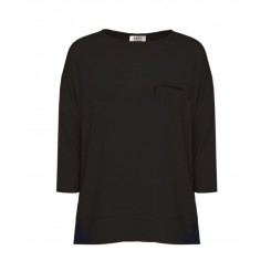 Mela Purdie Zip Pocket Sweater - Matte Jersey