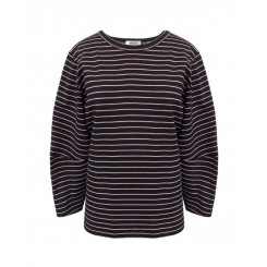 Mela Purdie Dune Sweater - St Barts Stripe Compact Knit - Sale