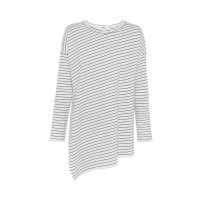 Mela Purdie Slide On Sweater - Quay Stripe - Compact Knit - Sale