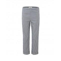Mela Purdie Cropped Pant - Boiler Stripe Microprene