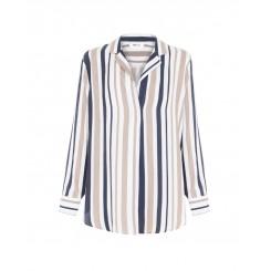 Mela Purdie Nomad Shirt - Marina Stripe Print
