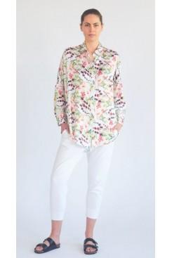 Mela Purdie Limitless Shirt - Honeysuckle Floral