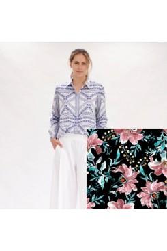 Mela Purdie Soft Shirt - Juniper Floral