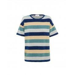 Mela Purdie Cube T - Rainbow Stripe