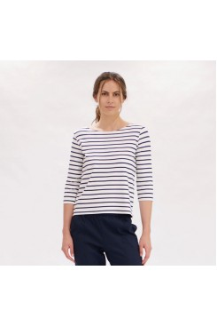 Mela Purdie Relaxed Boat Neck - Artisan Stripe