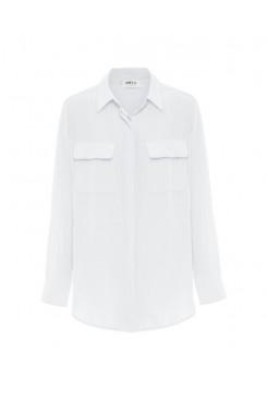 Mela Purdie Soft Pocket Shirt - Macro-Mousseline - Sale - Rococco