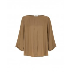 Mela Purdie Pleat Top - Macro Mousseline - Sale