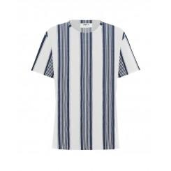 Mela Purdie Bermuda T - Positano Stripe - Sale