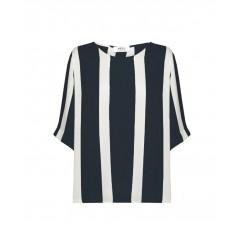 Mela Purdie Plaza T - Domino Stripe Print