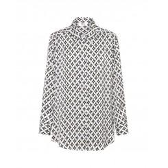 Mela Purdie Soft Shirt - Casino Satin Print