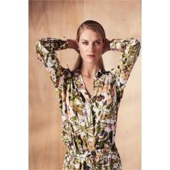 Mela Purdie Soft Shirt - Passion Vine Print