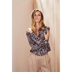 Mela Purdie Soft Shirt - Tigress Print