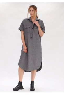 Mela Purdie Shirtmaker Dress - Polished Canvas