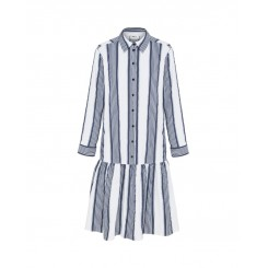 Mela Purdie Florence Dress - Positano Stripe - Microprene - Sale