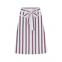 Mela Purdie Tie Skirt - Federal Stripe Microprene