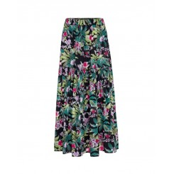 Mela Purdie Florence Skirt - Bora Bora Print - Mousseline
