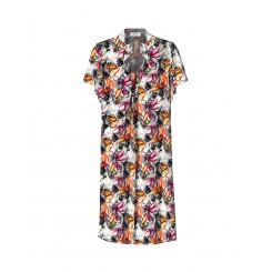 Mela Purdie Garden Dress - Watercolour Floral