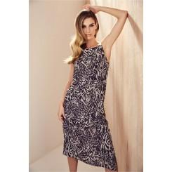 Mela Purdie Midi Dress - Tigress Print