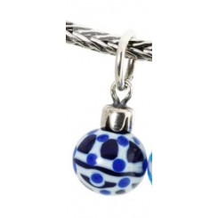 Blue Christmas Ornament - 1 - Retired