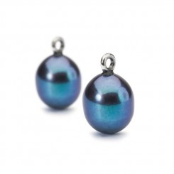 Peacock Pearl Oval Drops