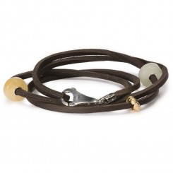 Bracelet, Brown Leather