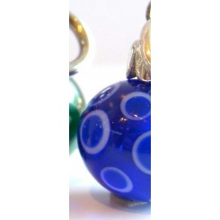 Blue Christmas Ornament 3 - Retired