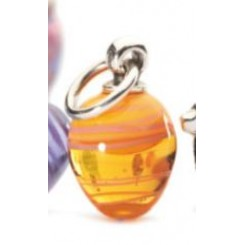 Easter Ornament - Orange Stripe - Retired