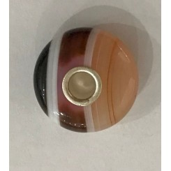 Pink Striped Agate 1