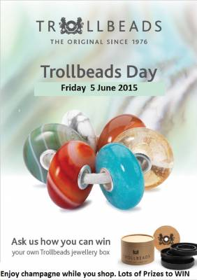 Trollbeads Day - Friday 5th June