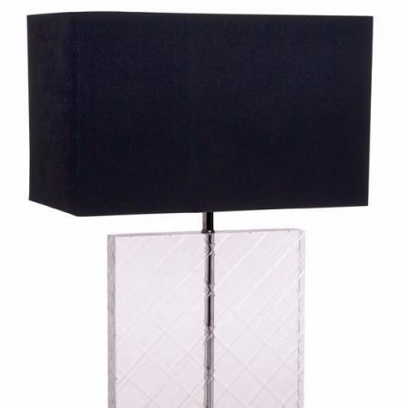 Glenvale Black Table Lamp